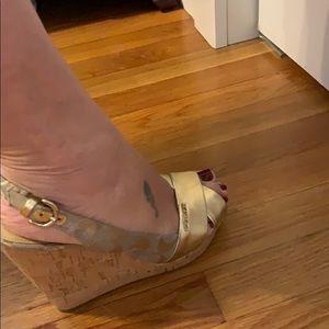 Coach Shoes - Coach wedge sandals